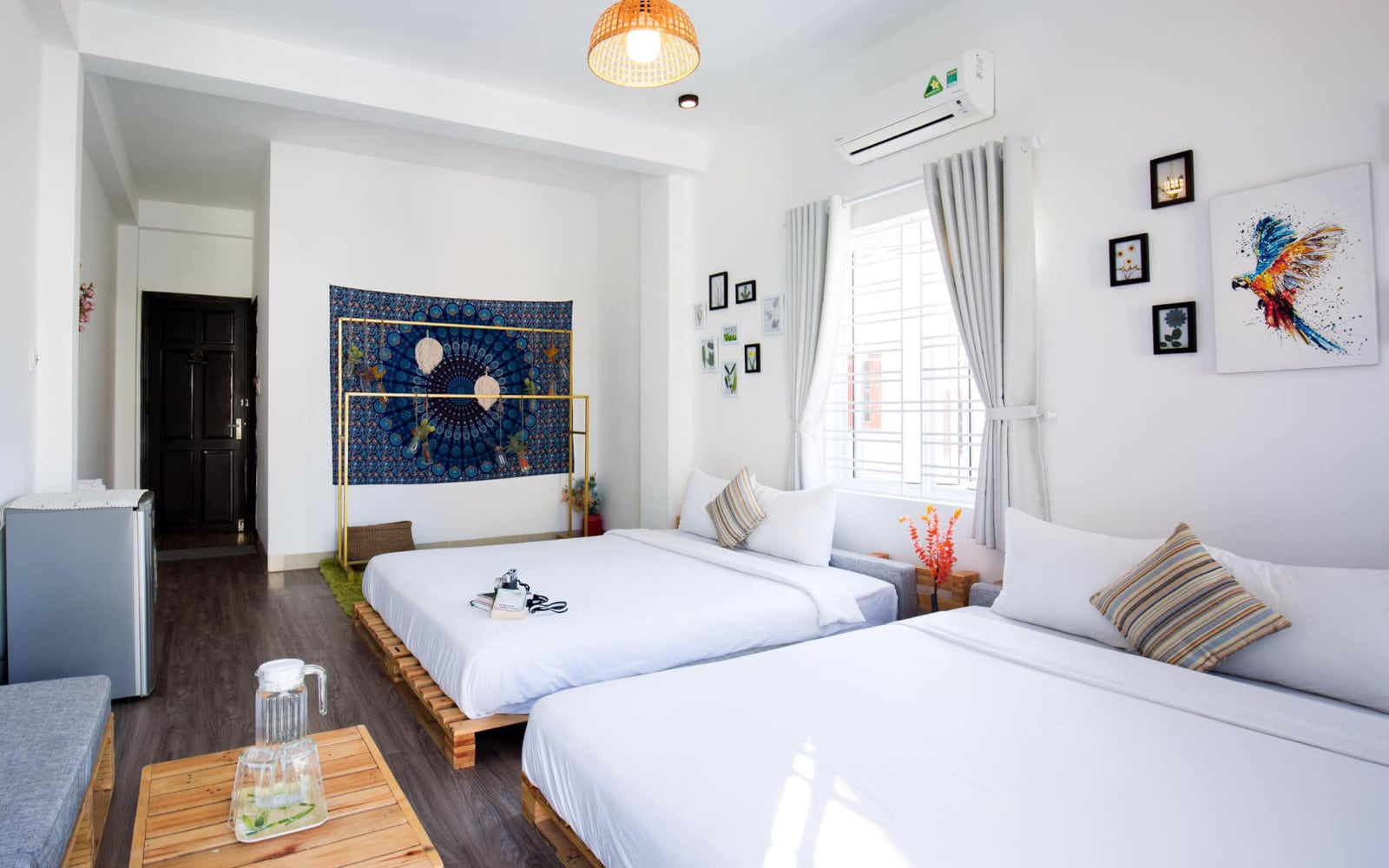 Image of the bedroom and decor in Nem's House Hoi An Homestay