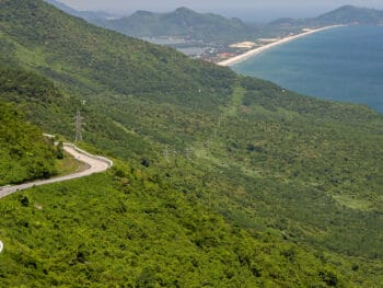 Image of the Hai Van Pass in Vietnam