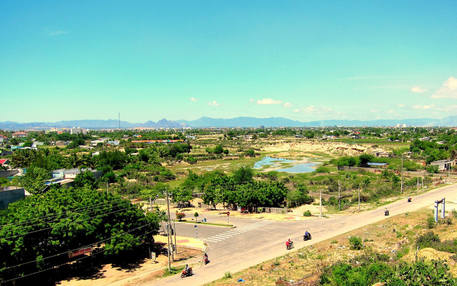 Image of the town of Phan Rang in Vietnam
