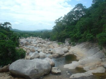 River in Chu Yang Sin National Park Vietnam