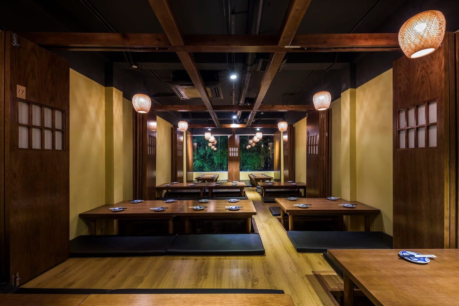Image of the inside of Robata Dining An in HCMC, Vietnam