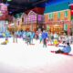 Image of people playing at Snow Town Saigon in Vietnam