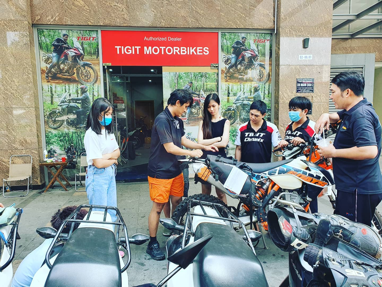 Image of the Tigit Motorbikes shop storefront
