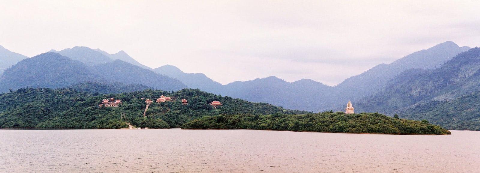 Image of Truc Lam Bach Ma Zen Monastery in Vietnam