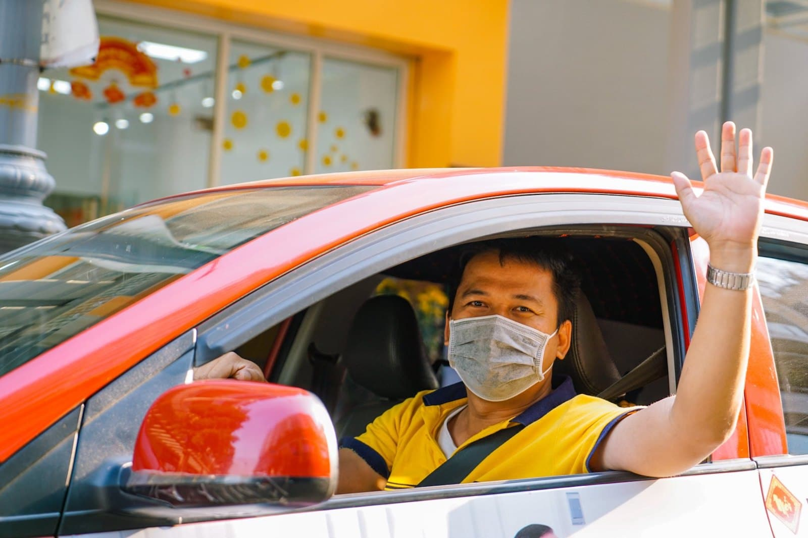 Image of a beTaxi in Vietnam