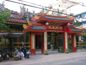 Image of Quan Am Pagoda in Cholon in Ho Ch Minh City, Vietnam