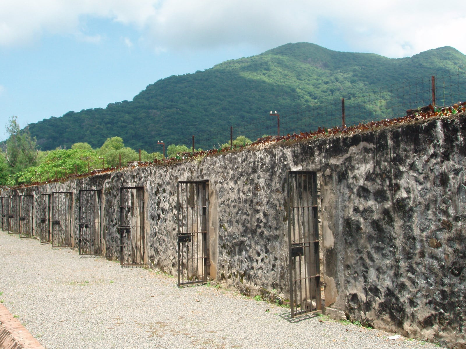 Image of a former prison on Con Dao in Vietnam