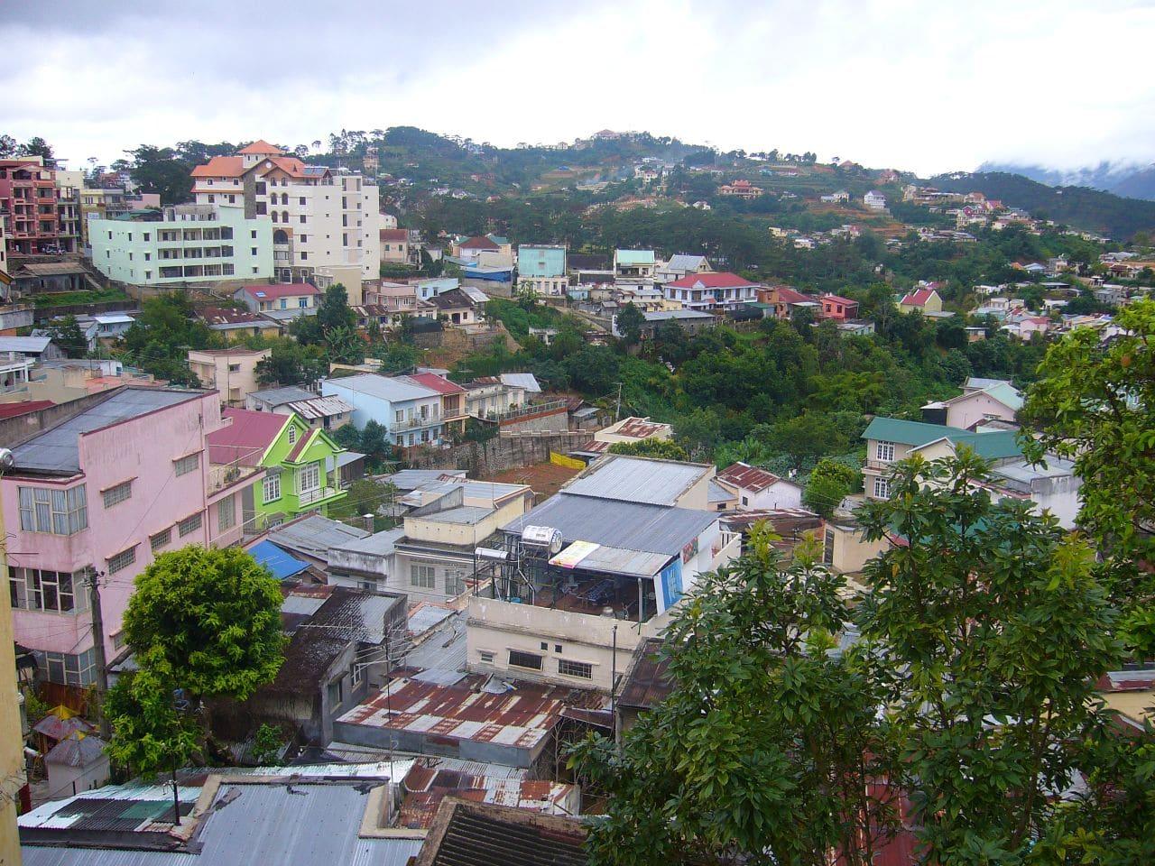 Dalat City Vietnam