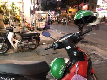 Grab Motorbike Ridesharing HCMC