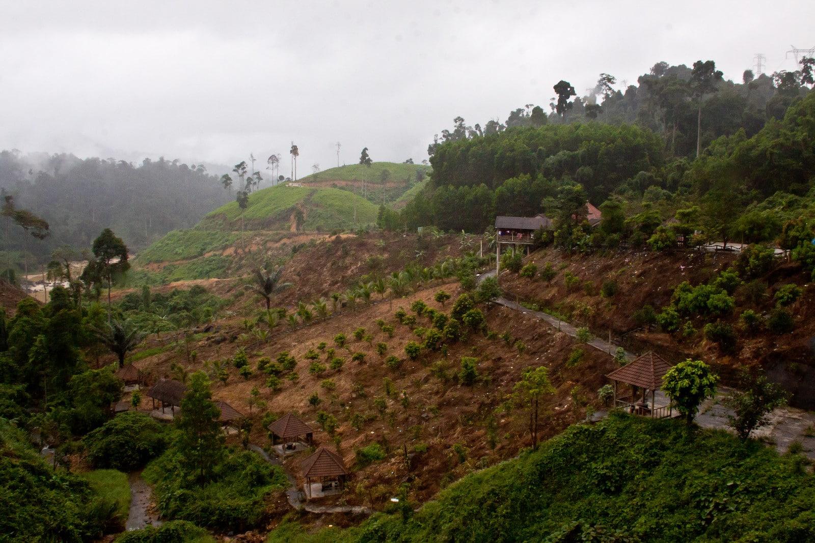 Image of fields in Kon Tum Province, Vietnam