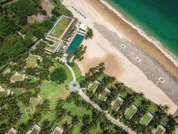 Image of an aerial shot of the Mia Resort Nha Trang in Vietnam