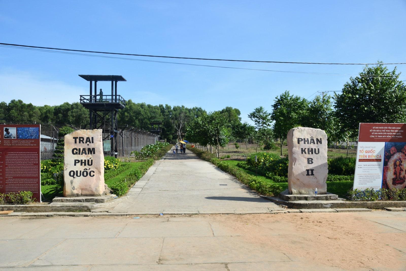 Image of Phu Quoc Prison in Vietnam