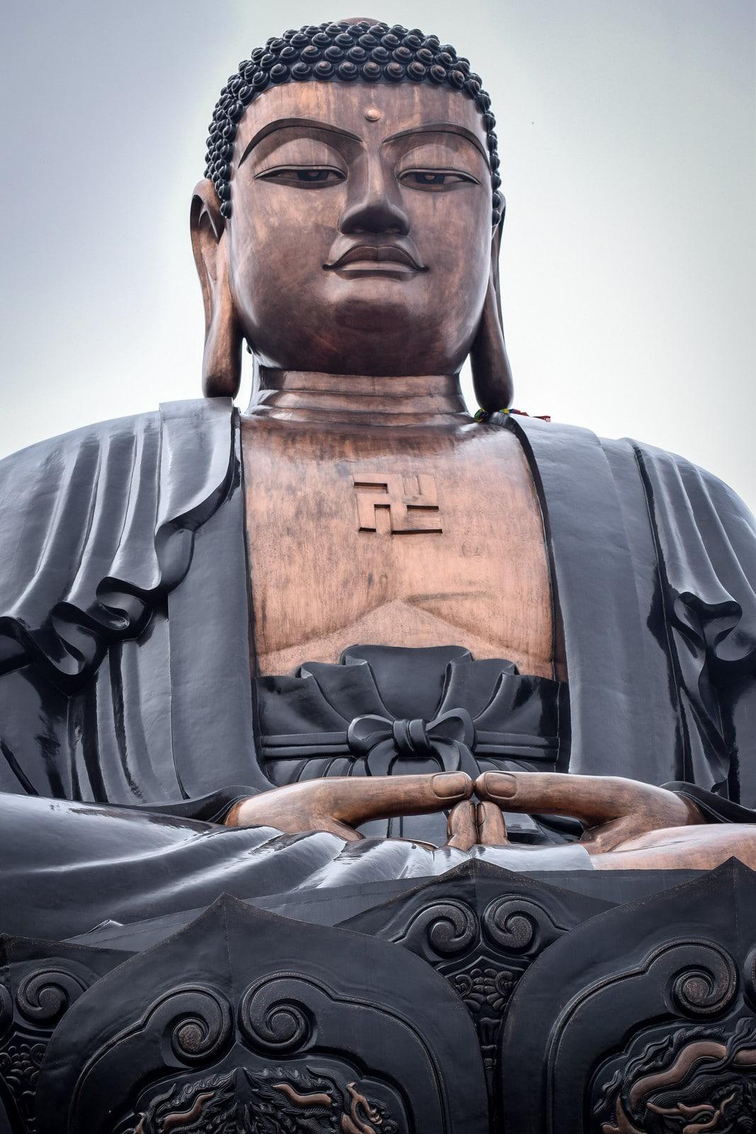 Image of a Buddha statue at Sun World Fansipan Legend in Sapa, Vietnam