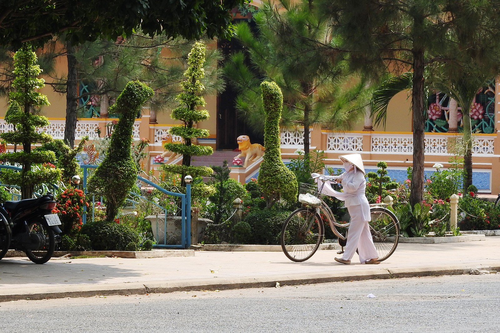 Tay Ninh City Vietnam