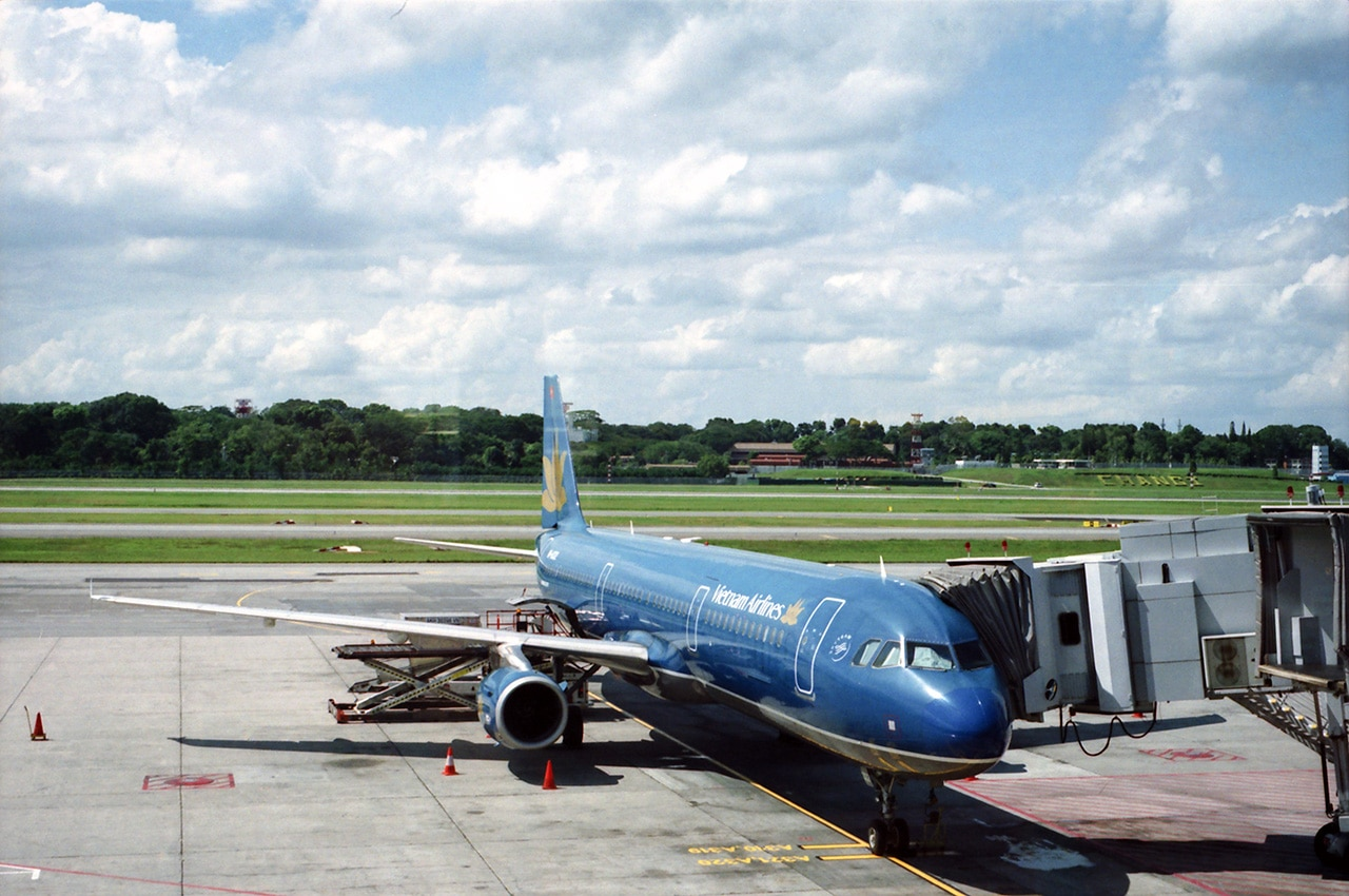 Image of Vietnam Airlines on Phu Quoc Island