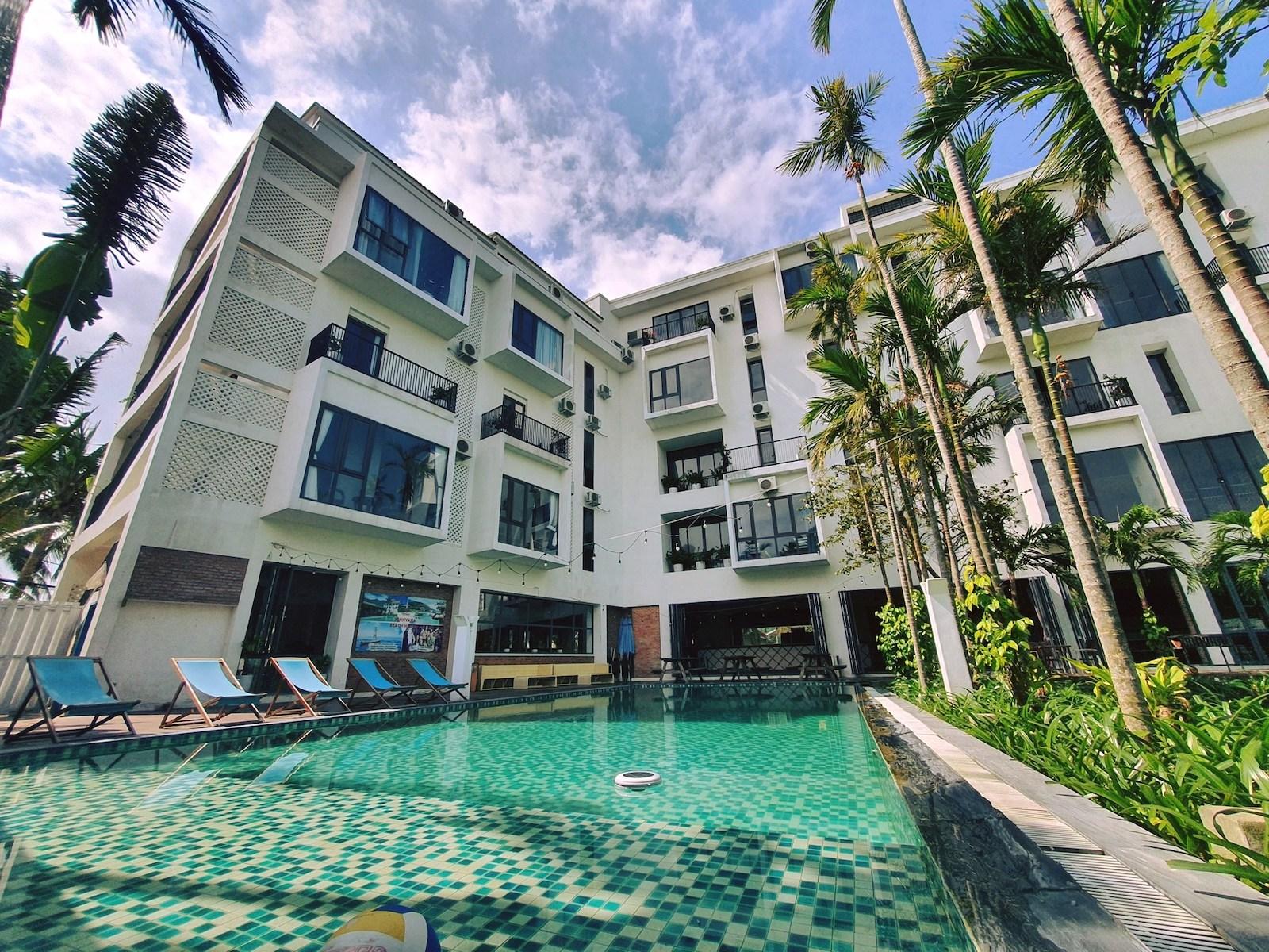 Image of the Vietnam Backpacker Hostels exterior in Hoi An, Vietnam