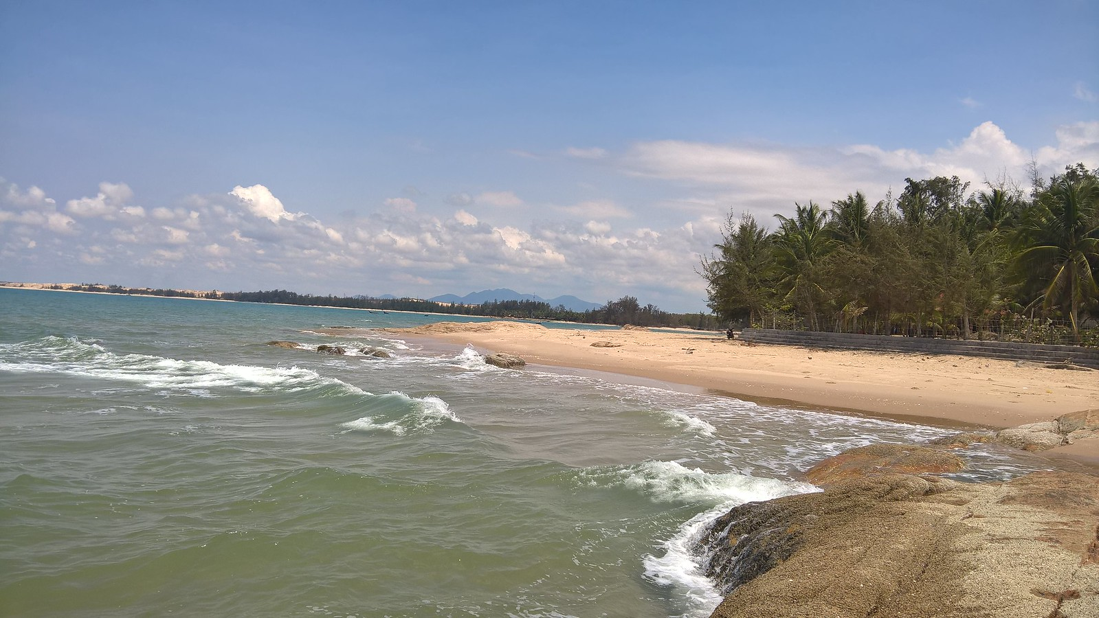Beach in La Gi Vietnam.