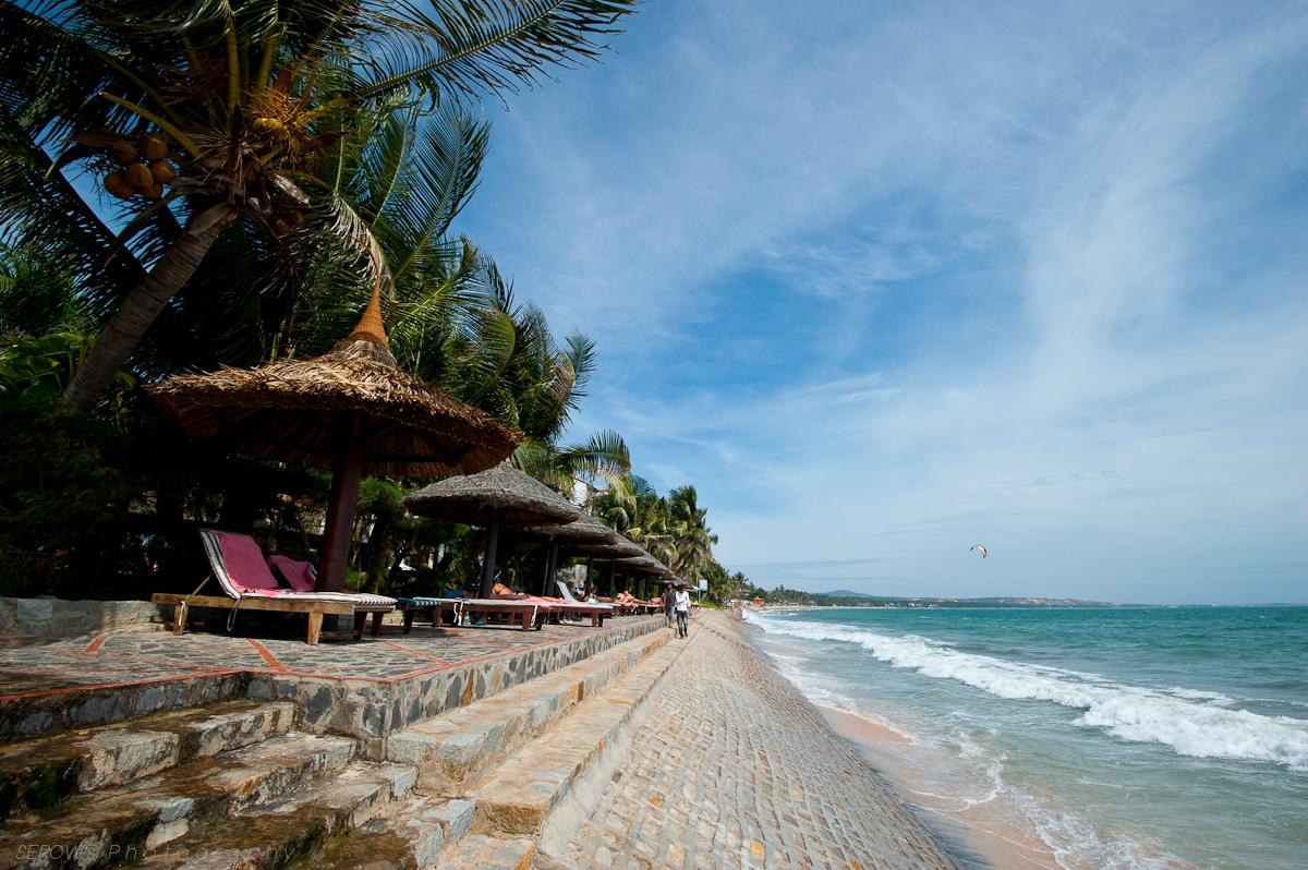 Beach in Phan Thiet Vietnam