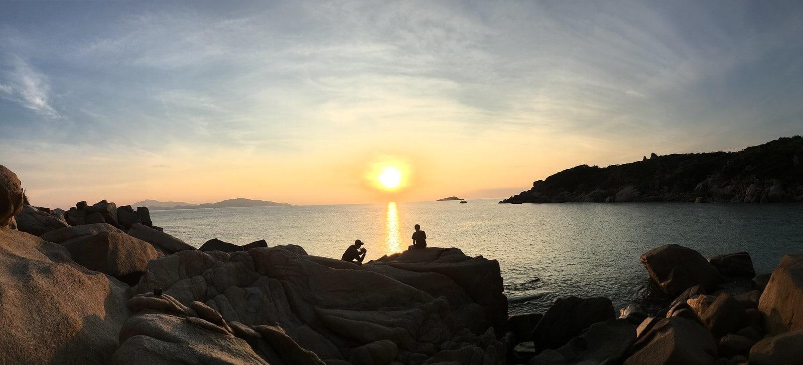 Beach Sunset in Cam Ranh Vietnam