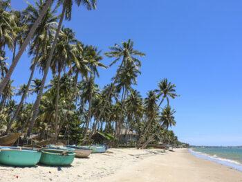 Clear Beach in Phan Thiet Vietnam