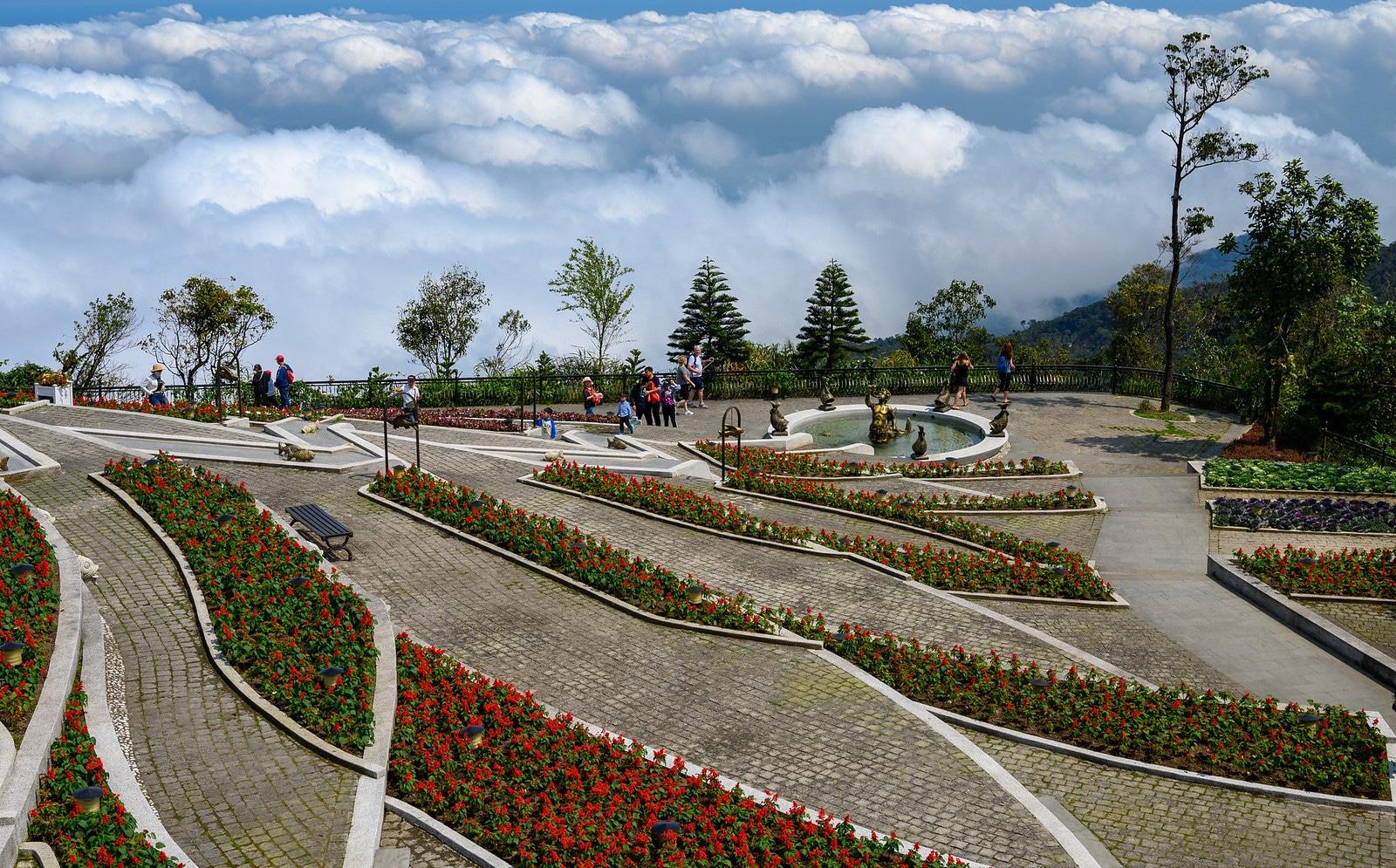 Gardens in Da Nang Vietnam
