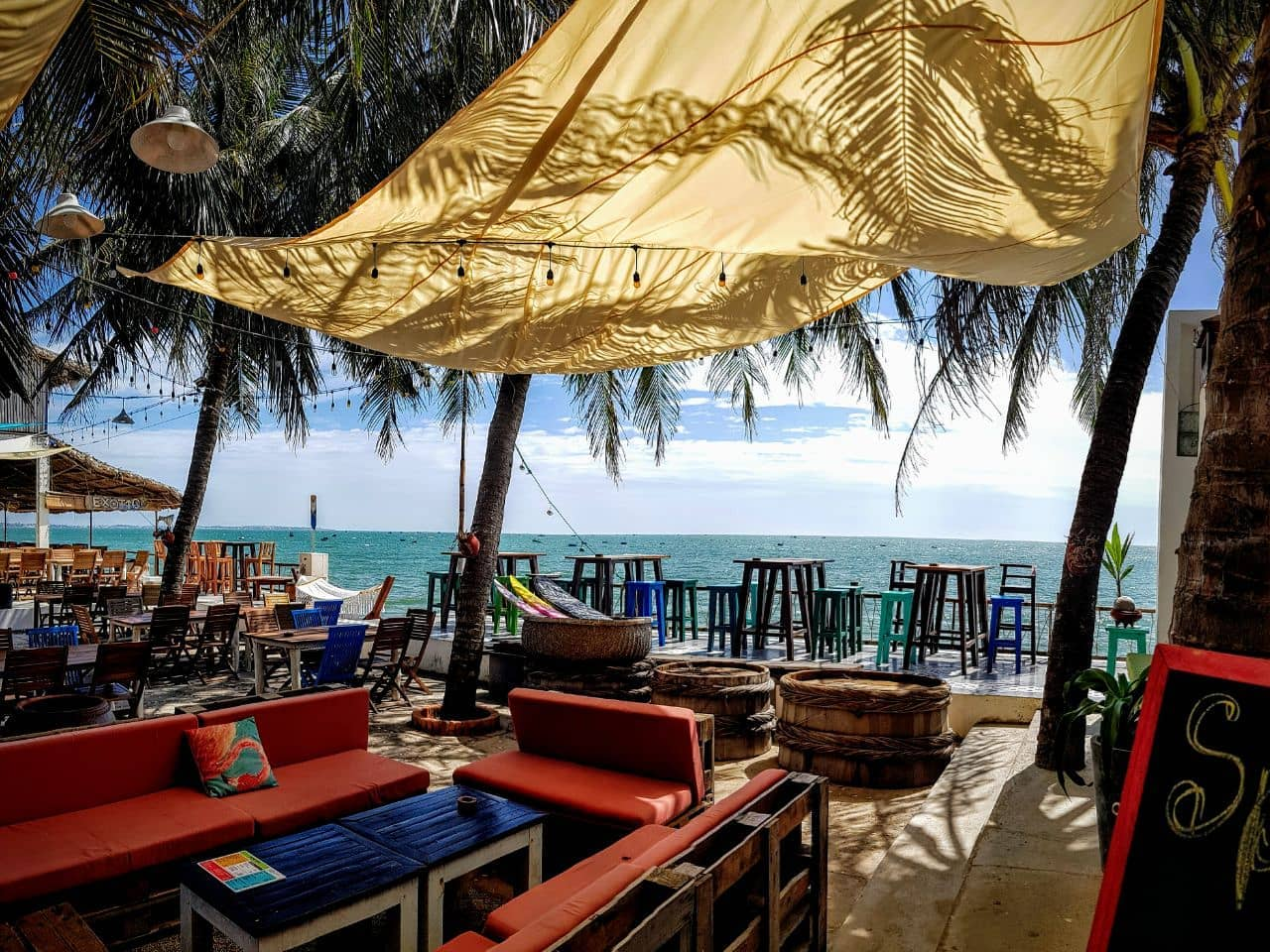 Image of the Pappa Goulash Hungarian restaurant in Phan Thiet, Vietnam