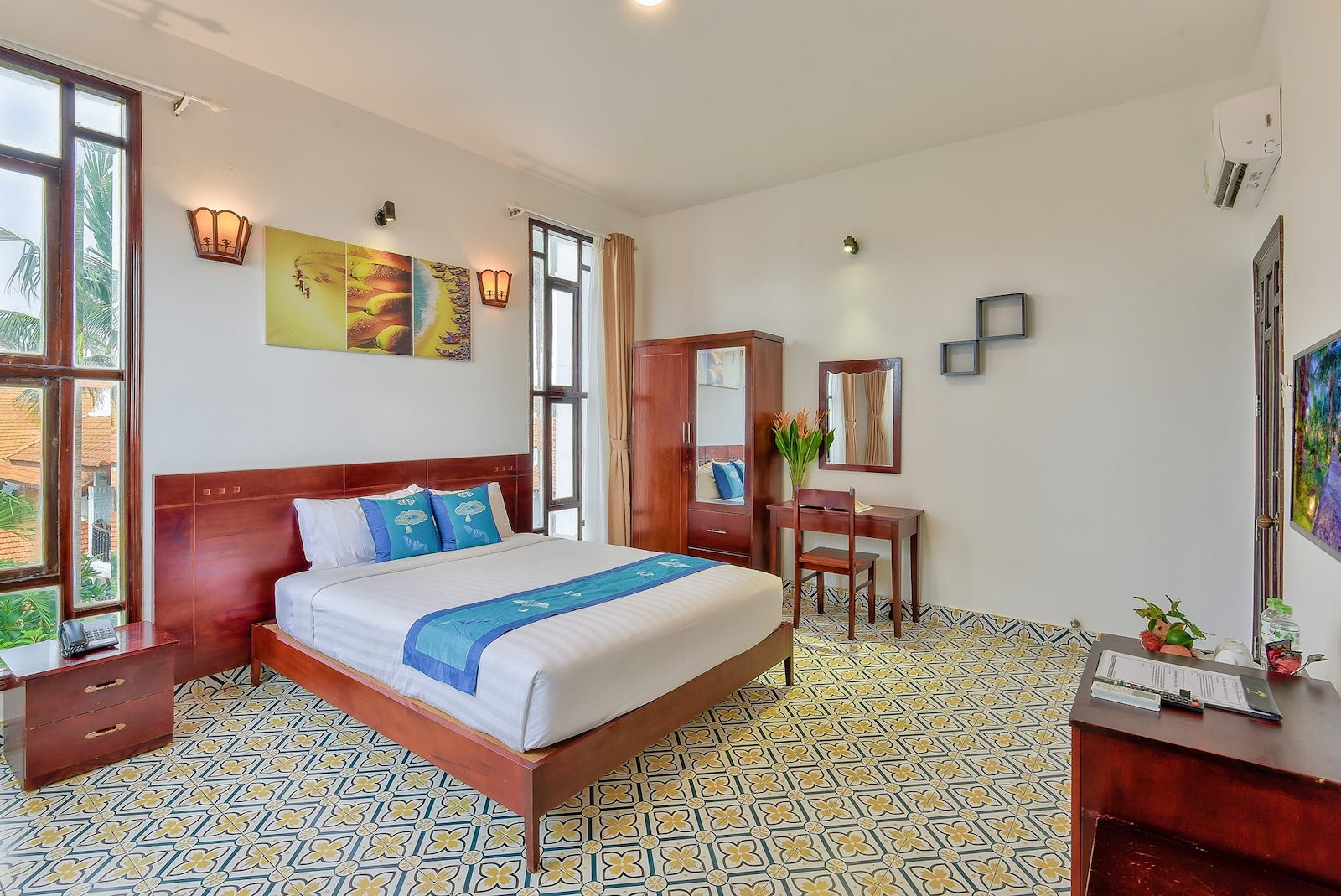 Image of a room at the Ravenala Boutique Resort Mui Ne in Vietnam