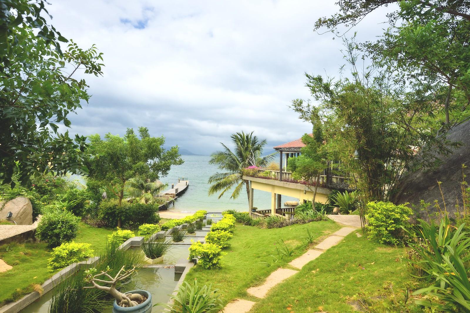 Resort View in Cam Ranh Vietnam