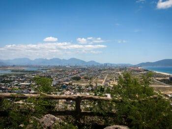 View from Marble Mountain Da Nang Vietnam