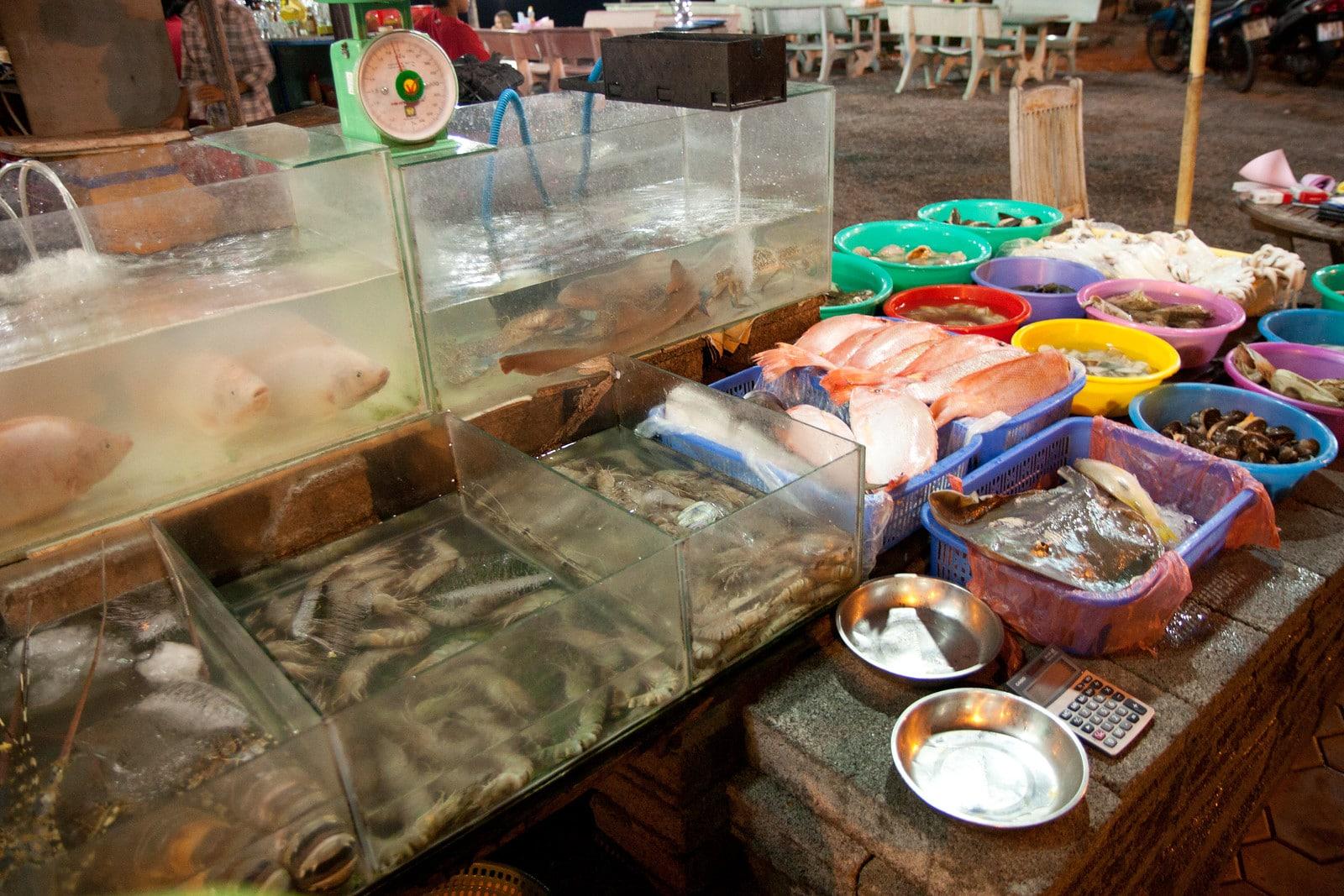 Fish Market in Mui Ne Vietnam