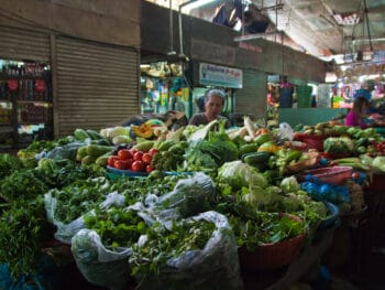 Image of the Phan Thiet Central Market in Vietnam