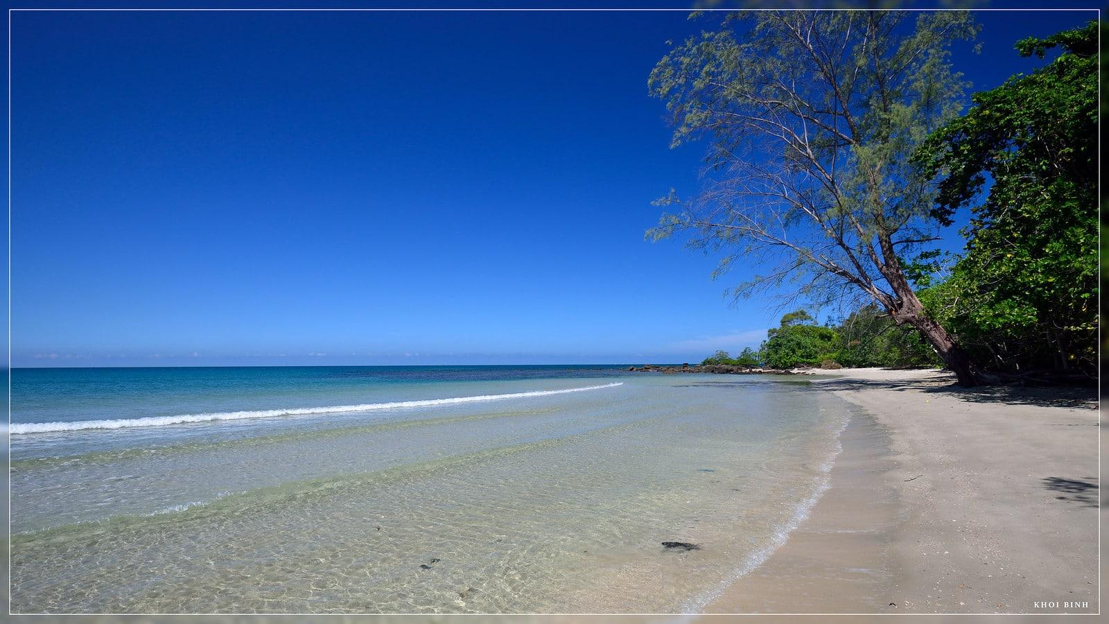 Remote Beach in Phu Quoc Vietnam