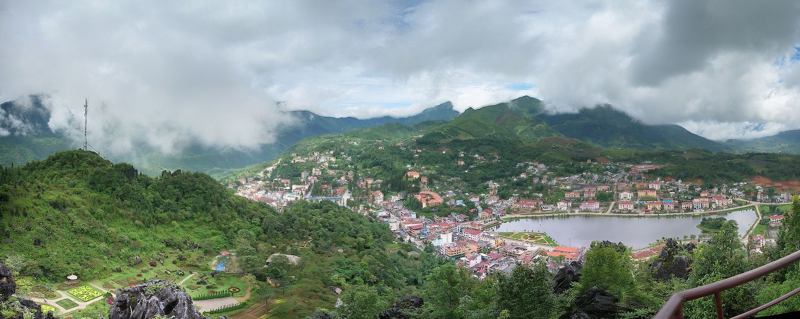 Image of Sapa, Vietnam in the mountains