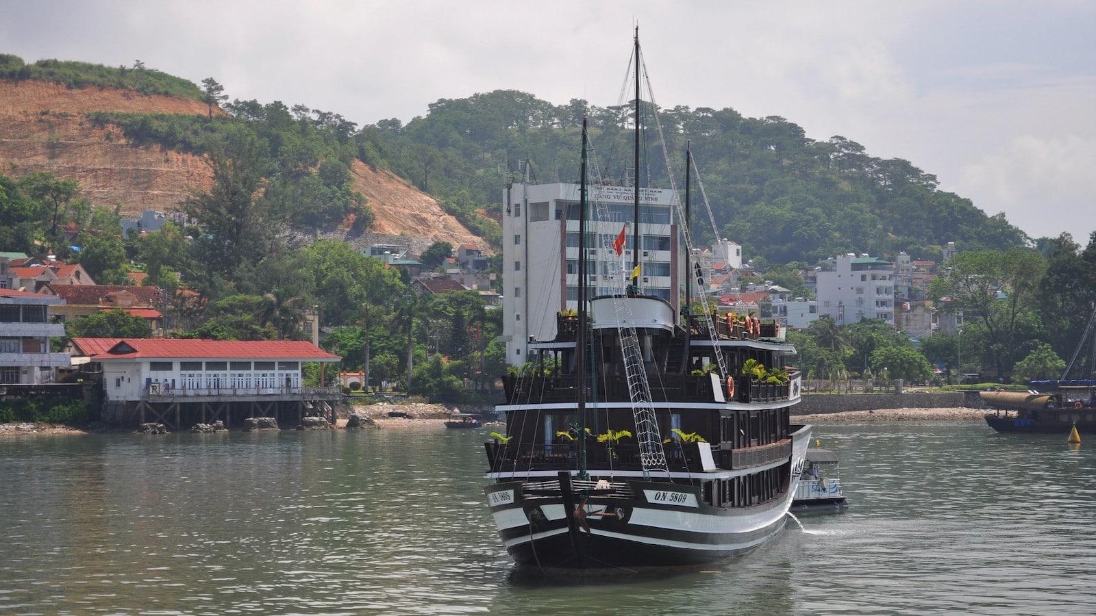 Image of the Bhaya Cruise in Halong City, Vietnam