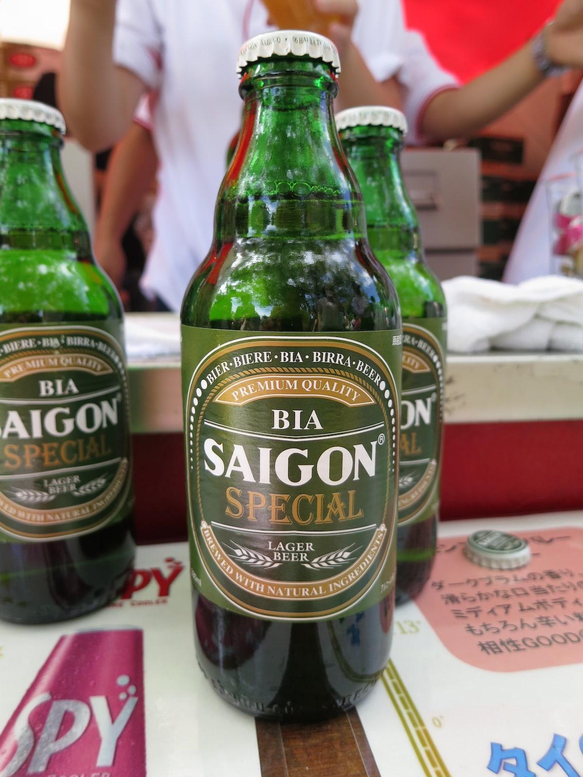 Bia Saigon Special Vietnam Beer Bottle