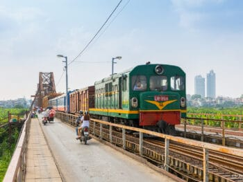 Hanoi Train Ride Vietnam Railroad