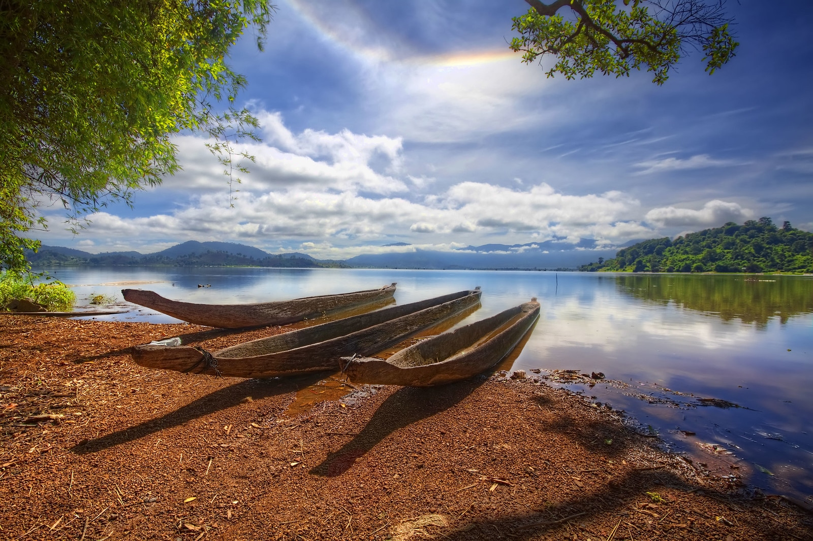 Lak Lake in Dak Lak Province Vietnam