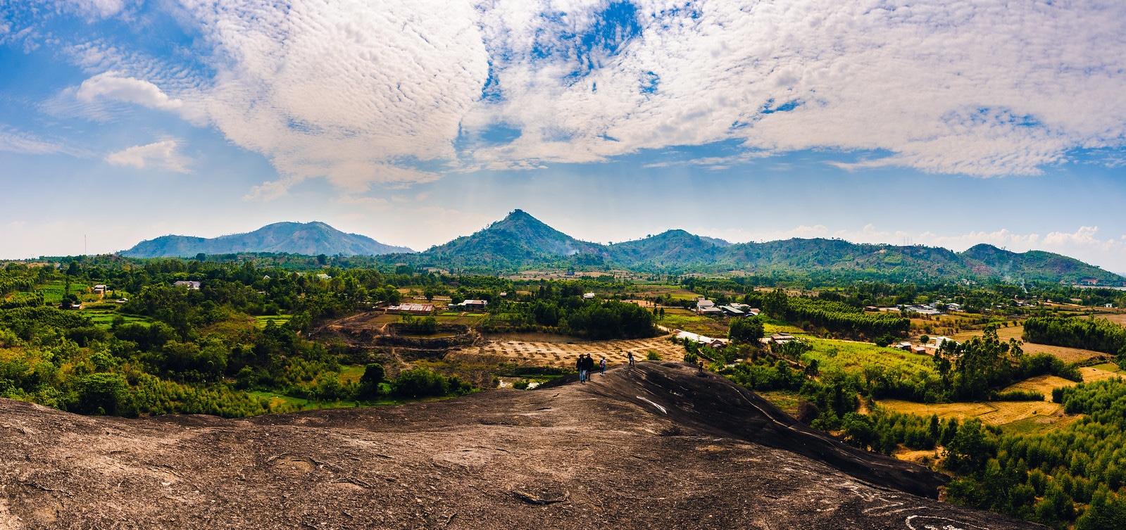 Landscape in Dak Lak Province Vietnam
