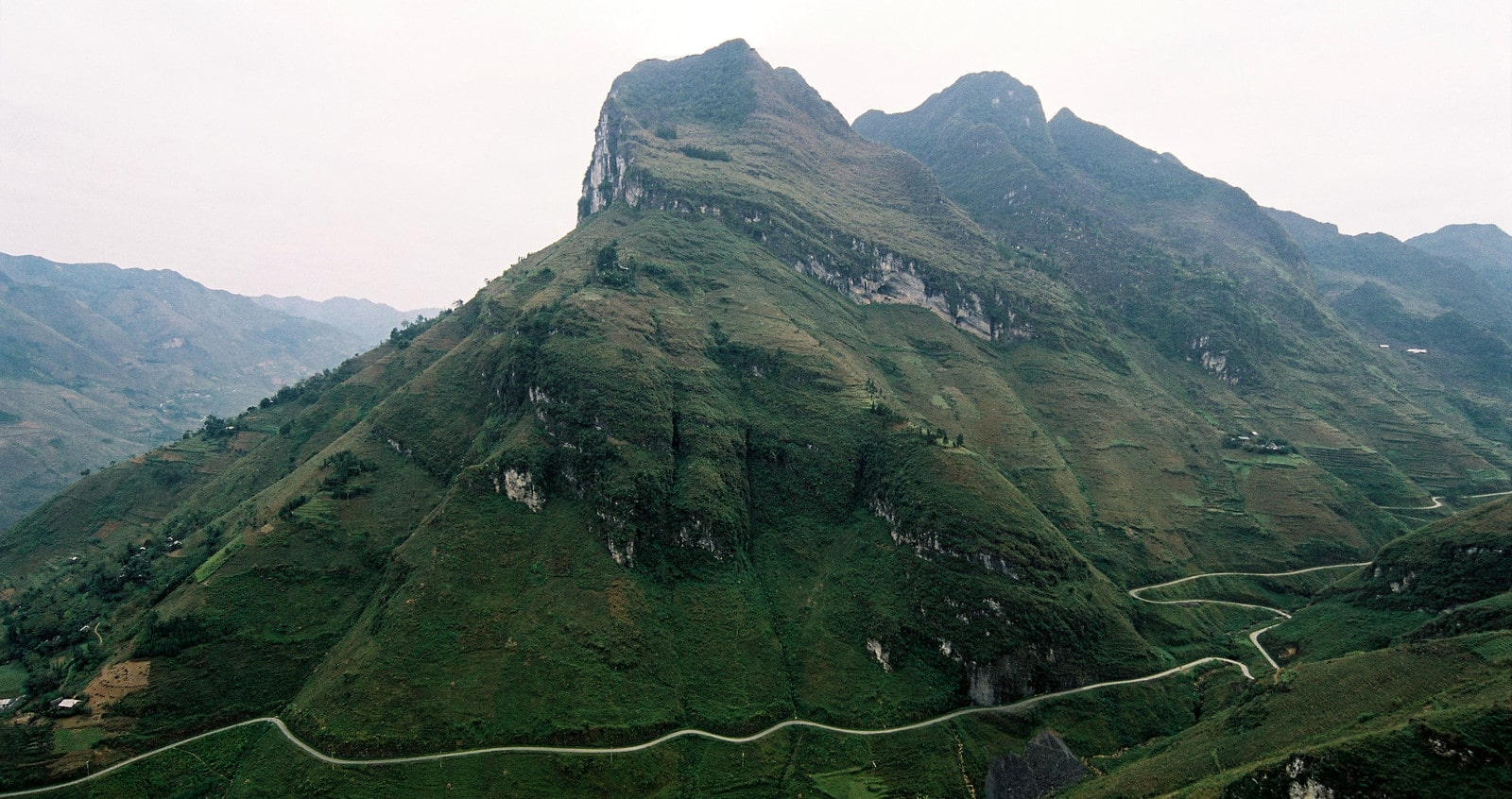 Ma Pi Leng Pass in the Ha Giang Province Vietnam