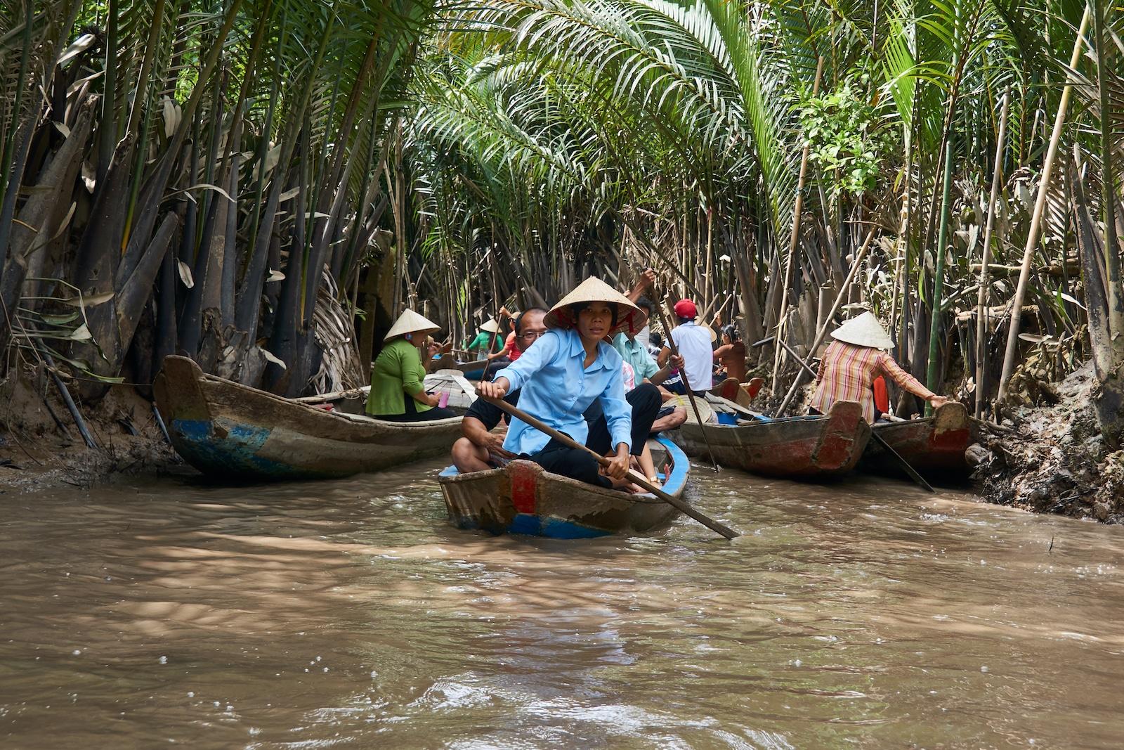 Mekong River Canoeing Vietnam