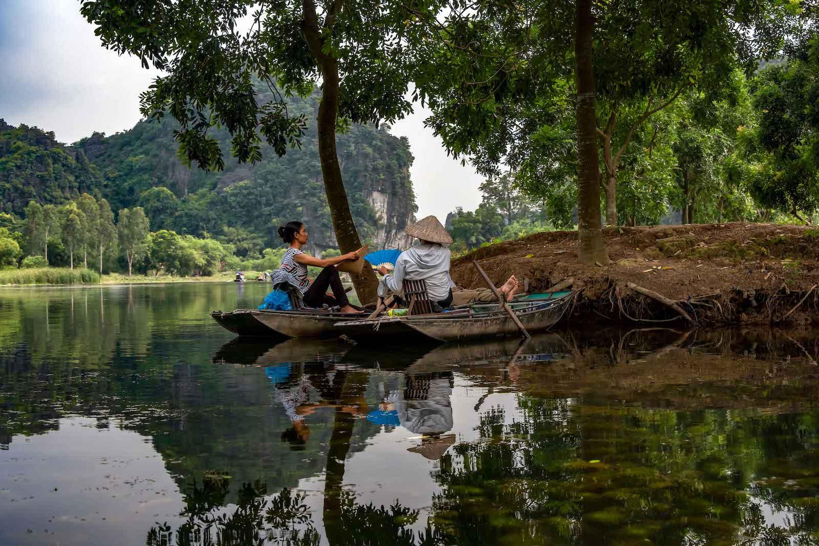 Northern Vietnam River Nature