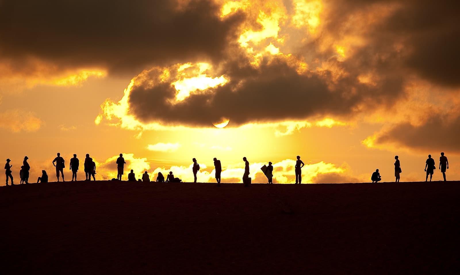 Desert Sunset, Mui Ne