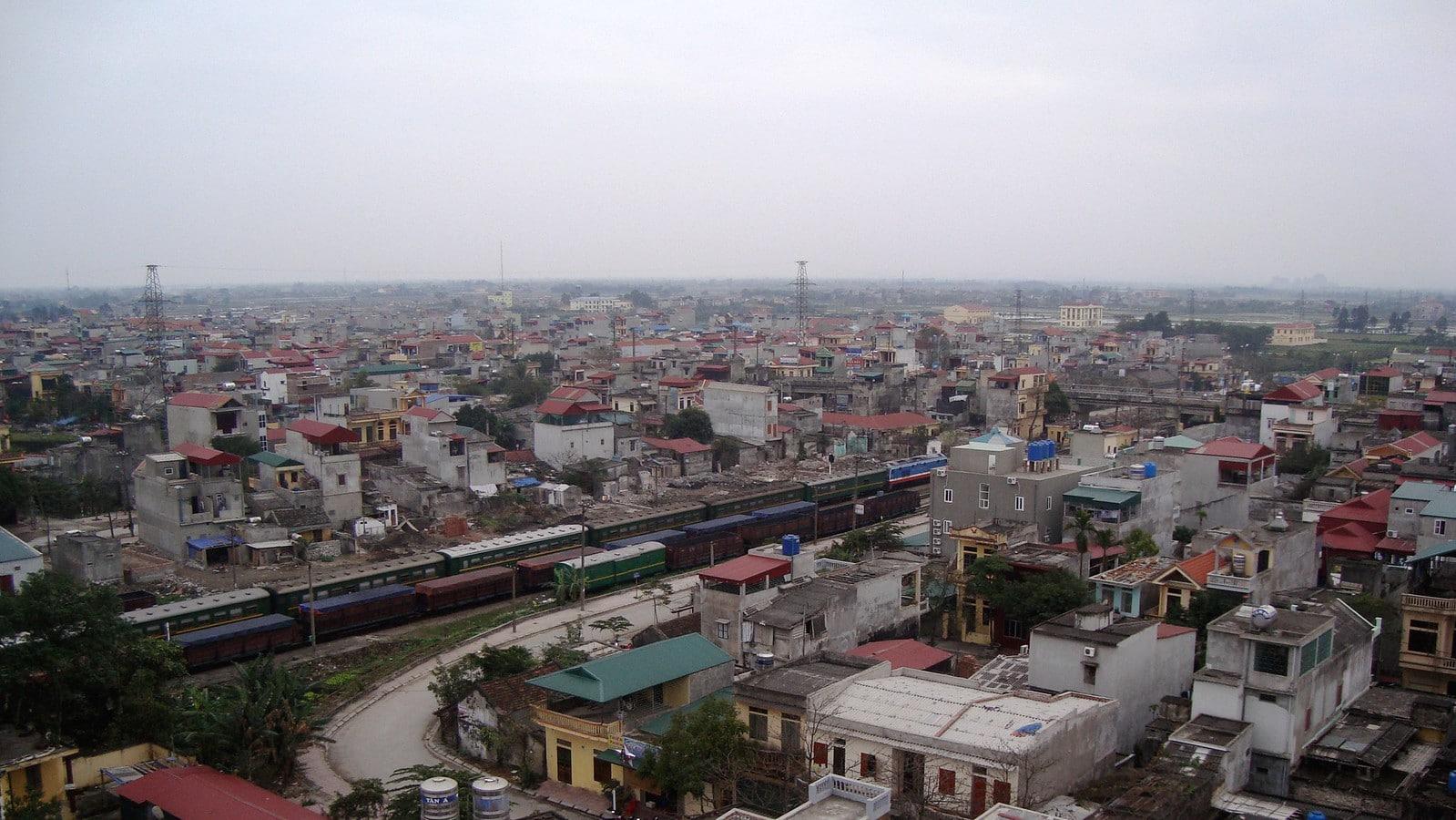 Cityscape of Ninh Bình, Vietnam