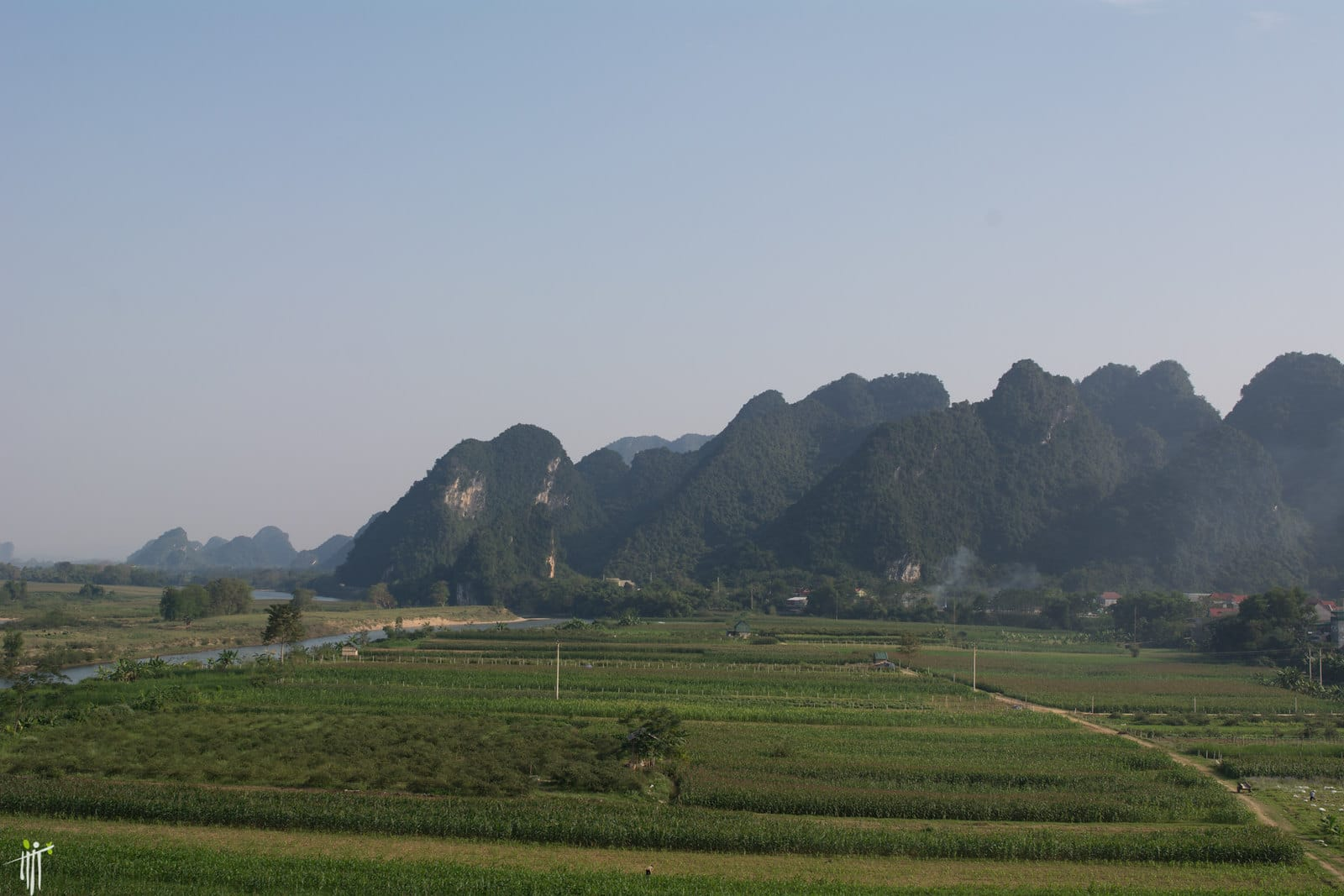 Con Cuong District in Nghe An Province, Vietnam