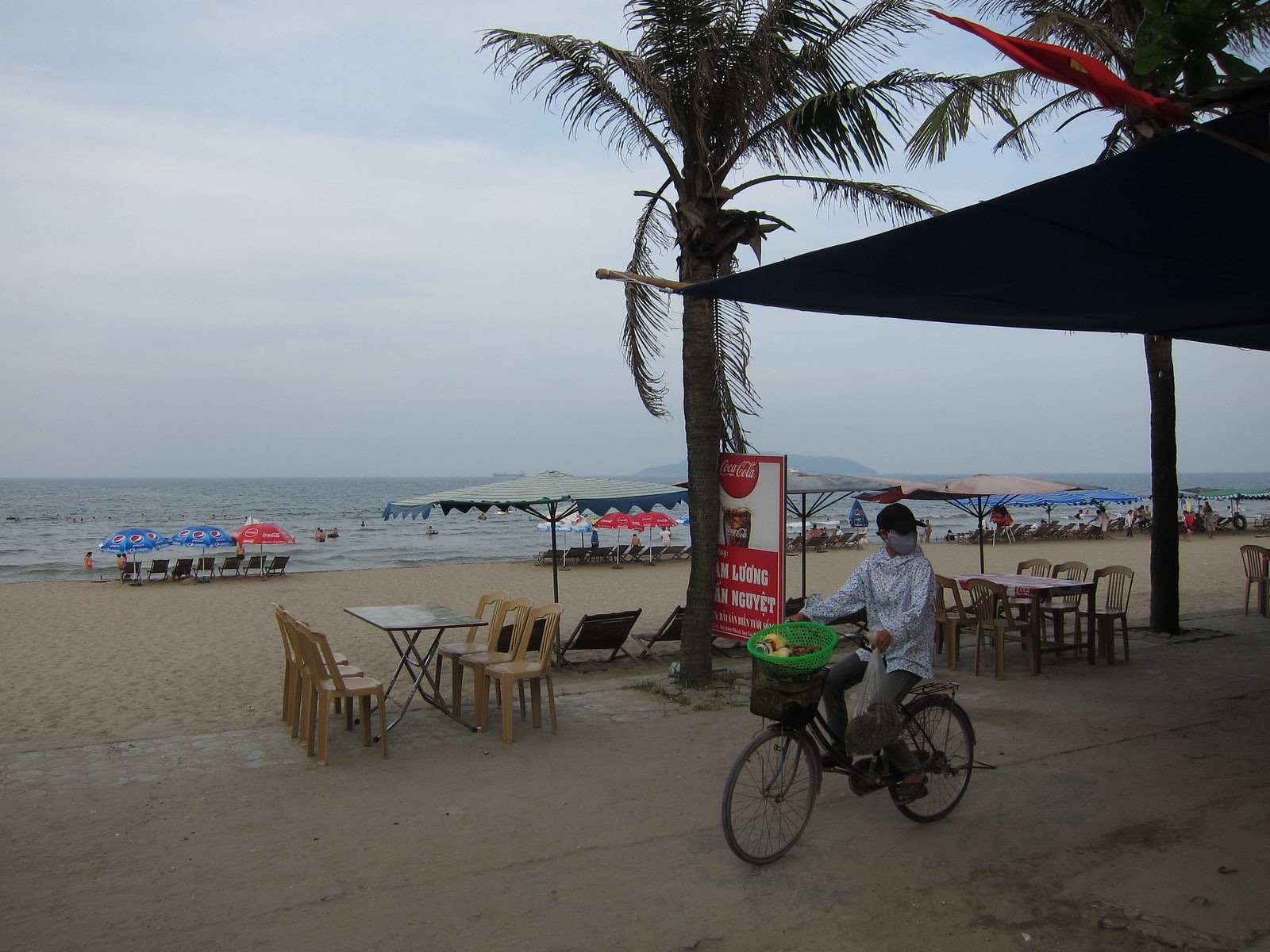 Cua Lo Beach in the Nghe An Province, Vietnam