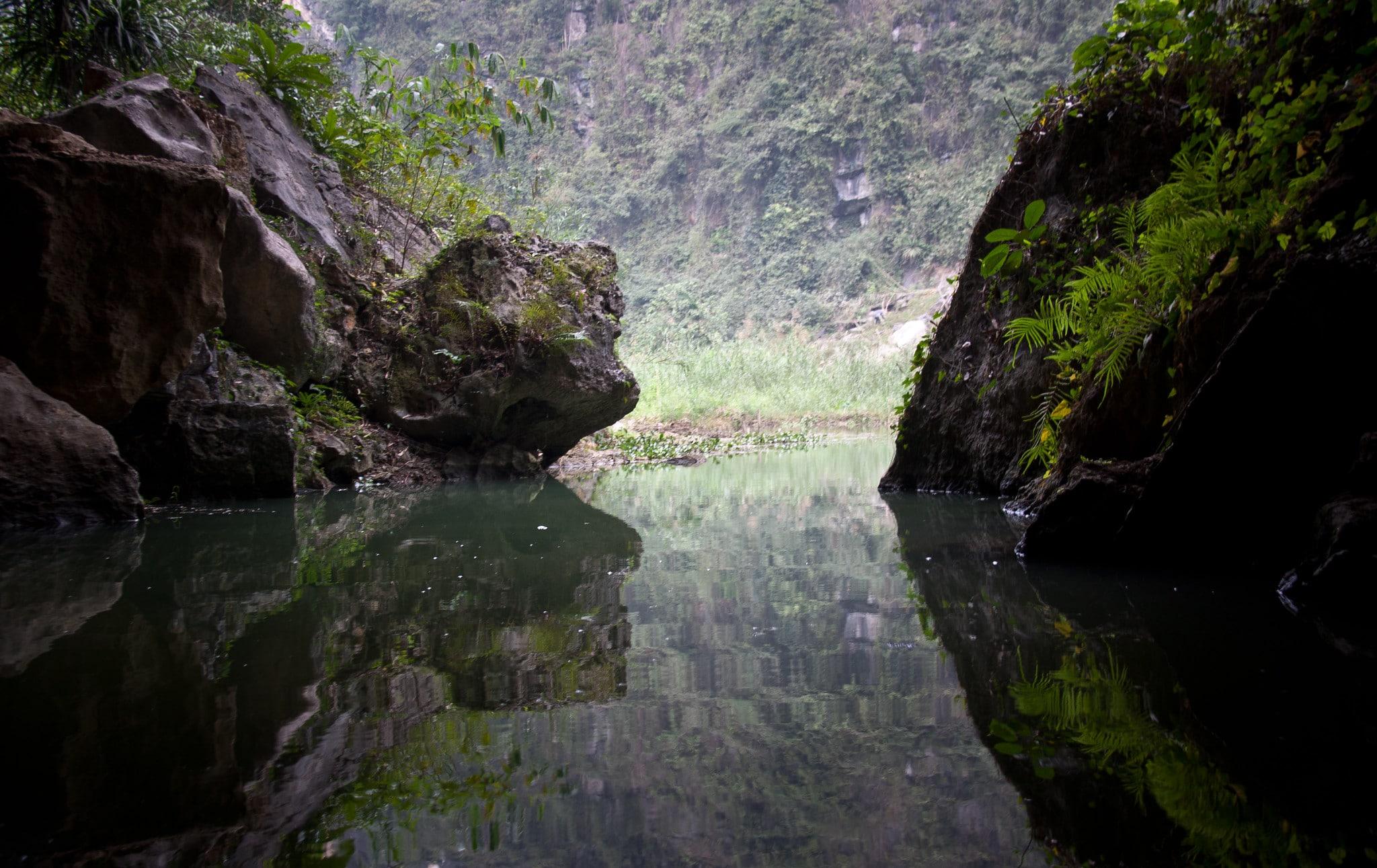 Grottoe in the Ninh Bình Province Vietnam