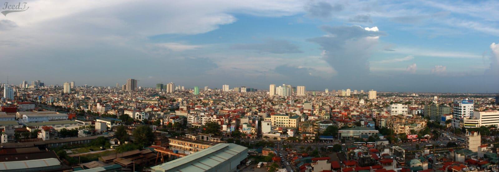 Hanoi Vietnam City Skyline Daytime