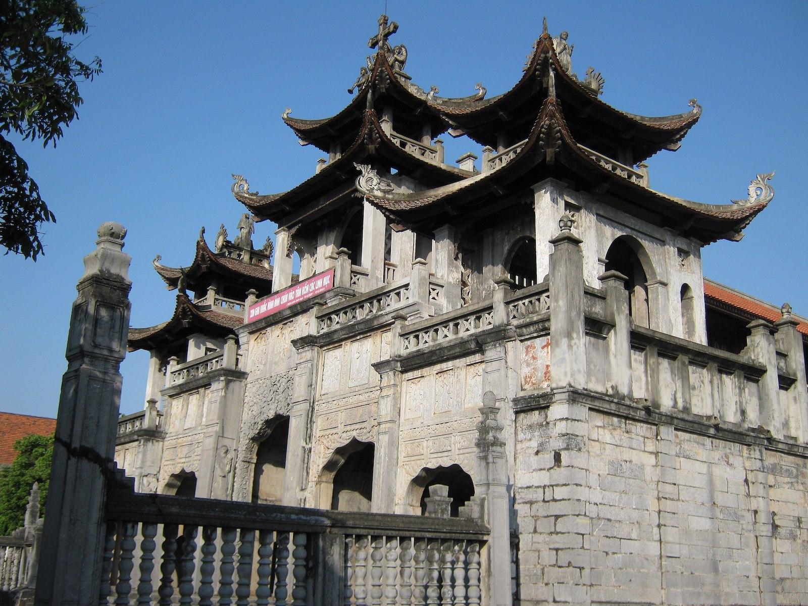 Image of Phat Diem Cathedral, Ninh Binh, Vietnam
