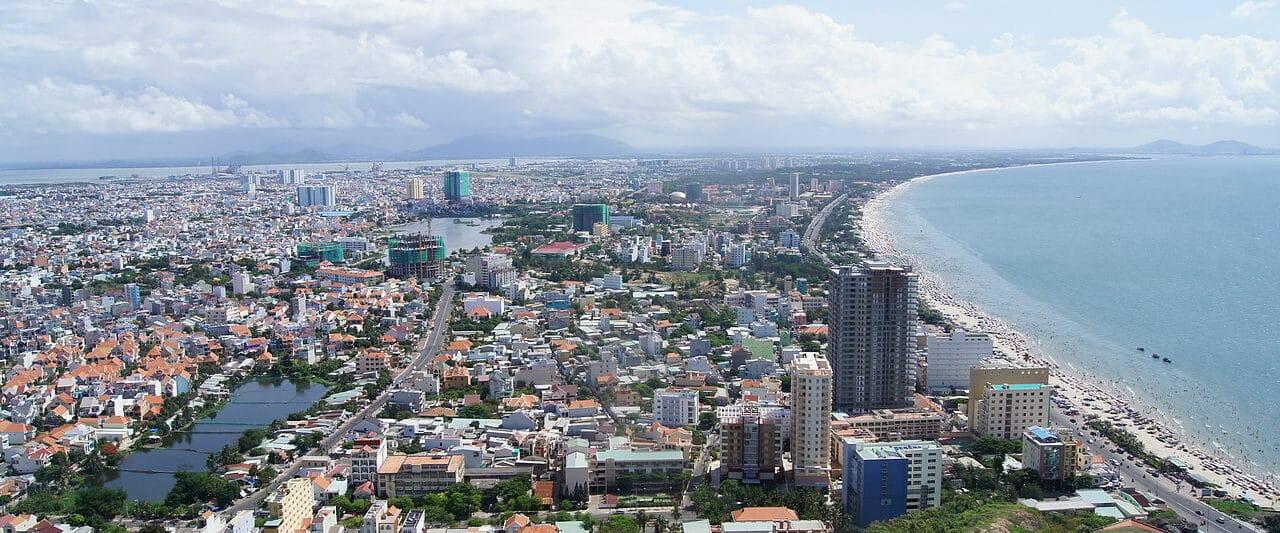 View of Vung Tàu City, Bà Ría-Vung Tàu Province, Vietnam