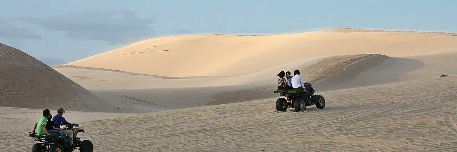 Image of the White Sand Dunes in Mui Ne, Phan Thiet, Vietnam